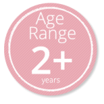 2 years old recommend age for this product