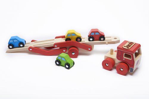 wooden transporter