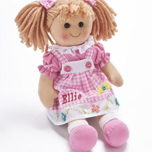 Personalised Rag Doll Isla Pink