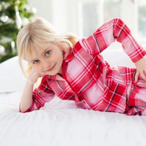 Traditional winter pyjamas