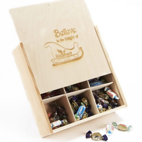 personalised wooden retro box