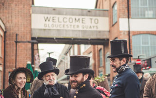 Image of Gloucester Quays Victorian Christmas Fayre