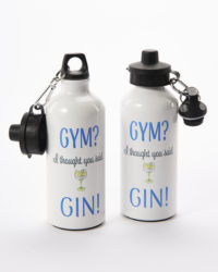 Gin water bottle
