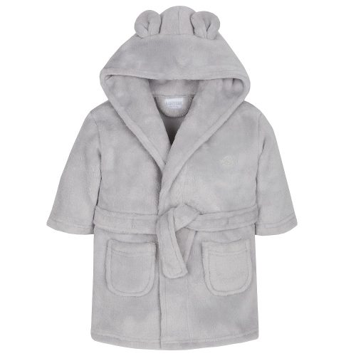 baby bathrobe Grey