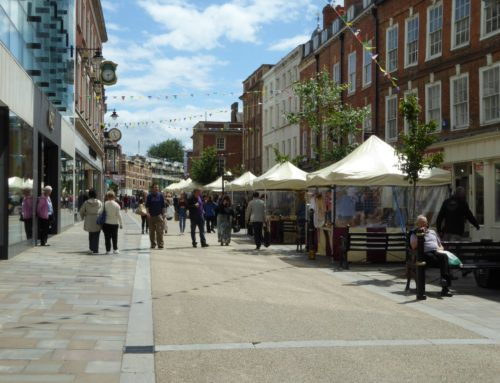 Worcester High Street market up-date