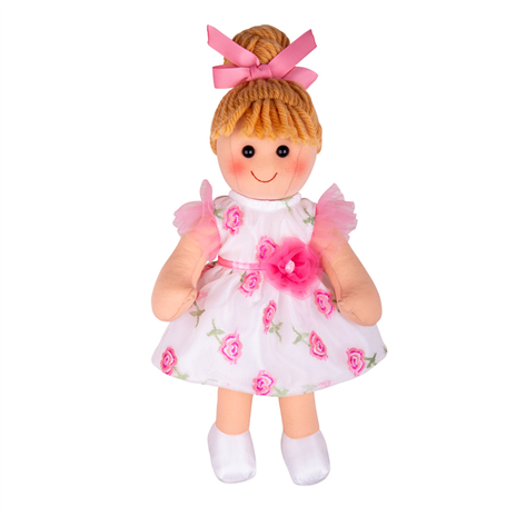 Personalised Rosie Flower Rag Doll