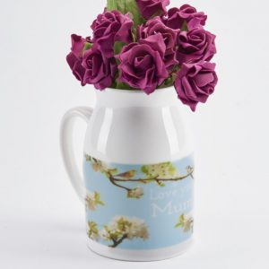 personalised milk jug