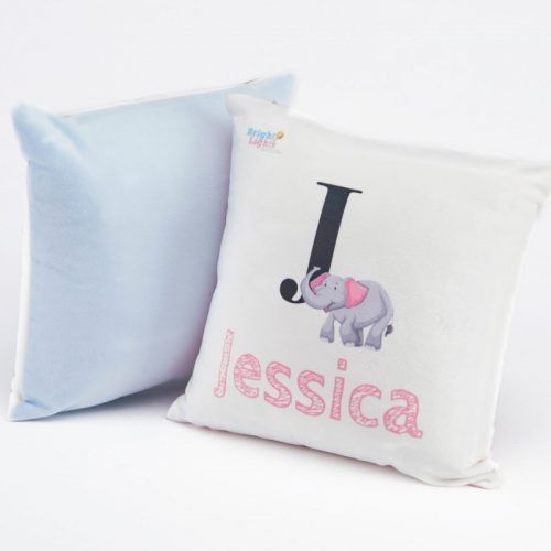 small personalised cushion