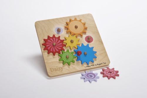 wooden cog puzzle