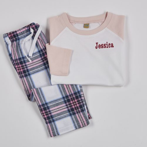 personalised baby pj's