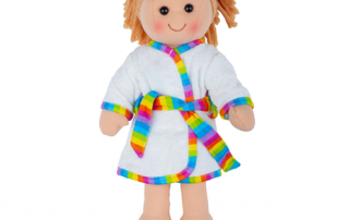 your bright lights personalised rag doll