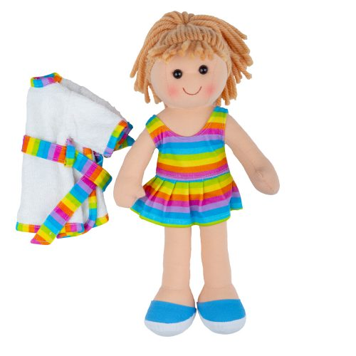 rainbow rag doll
