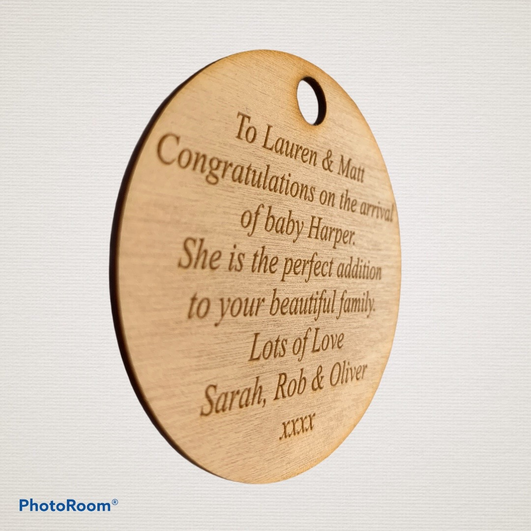 personalised label tags