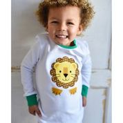 Personalised Roarsome Cotton Pyjama's