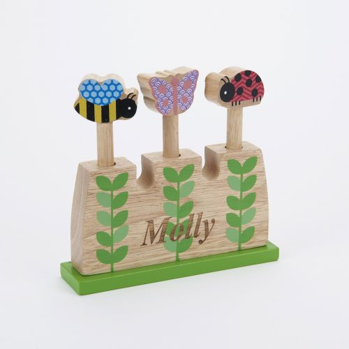 wooden pop up toy